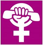 Logo des Frauennotrufs